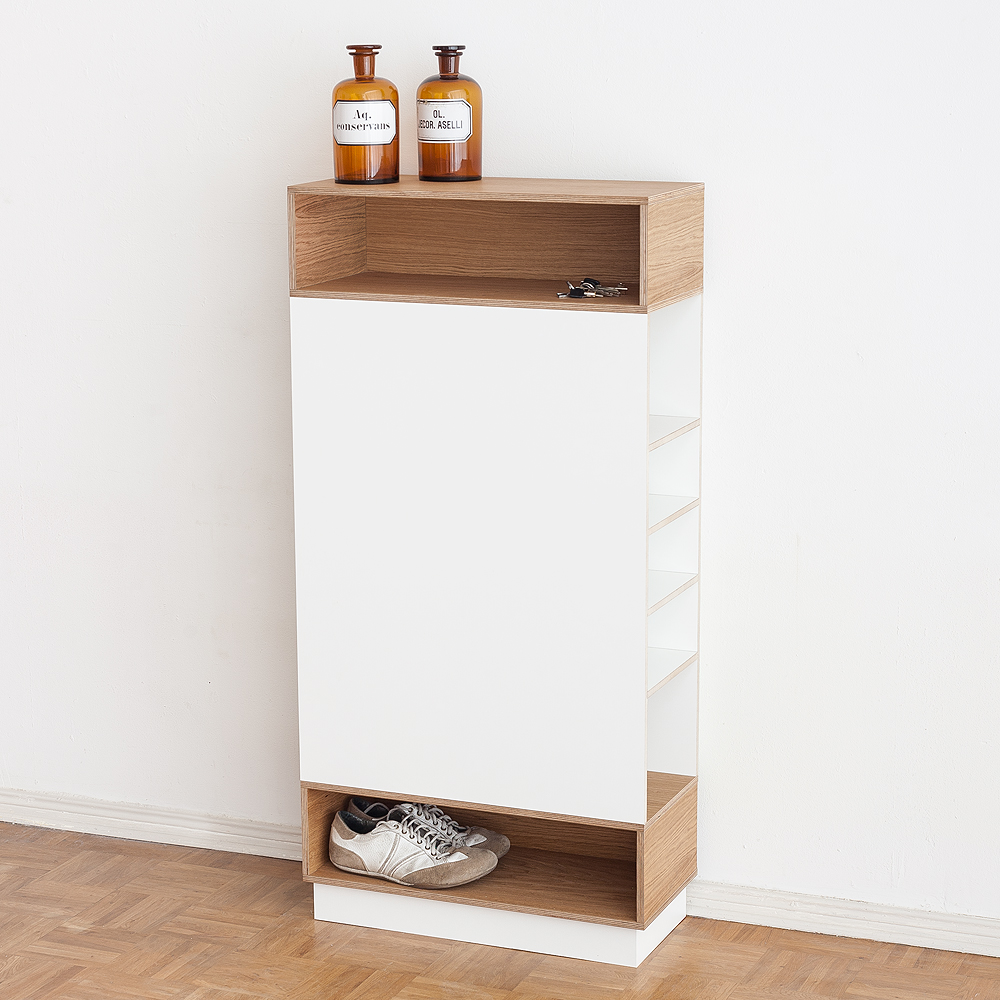 garderobe schmal wei wohnling schuhbank wl mit sitzflche holz xx cm wei holzbank with garderobe. Black Bedroom Furniture Sets. Home Design Ideas