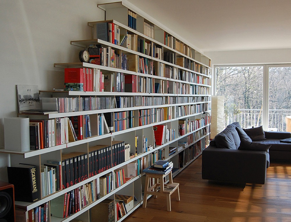 Bücherregal mit büchern  Bücherregal Regal Regalsystem | Vanpey Möbeldesign Manufaktur